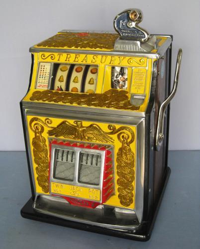 buying a slot machine